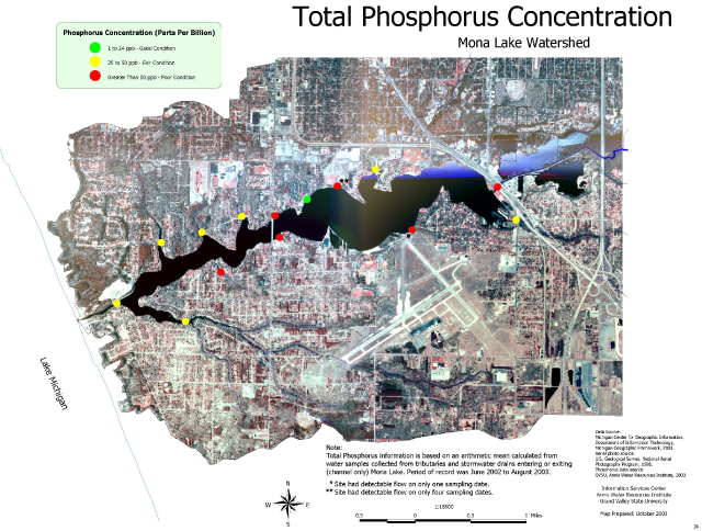 Total Phosphorus Concentrations